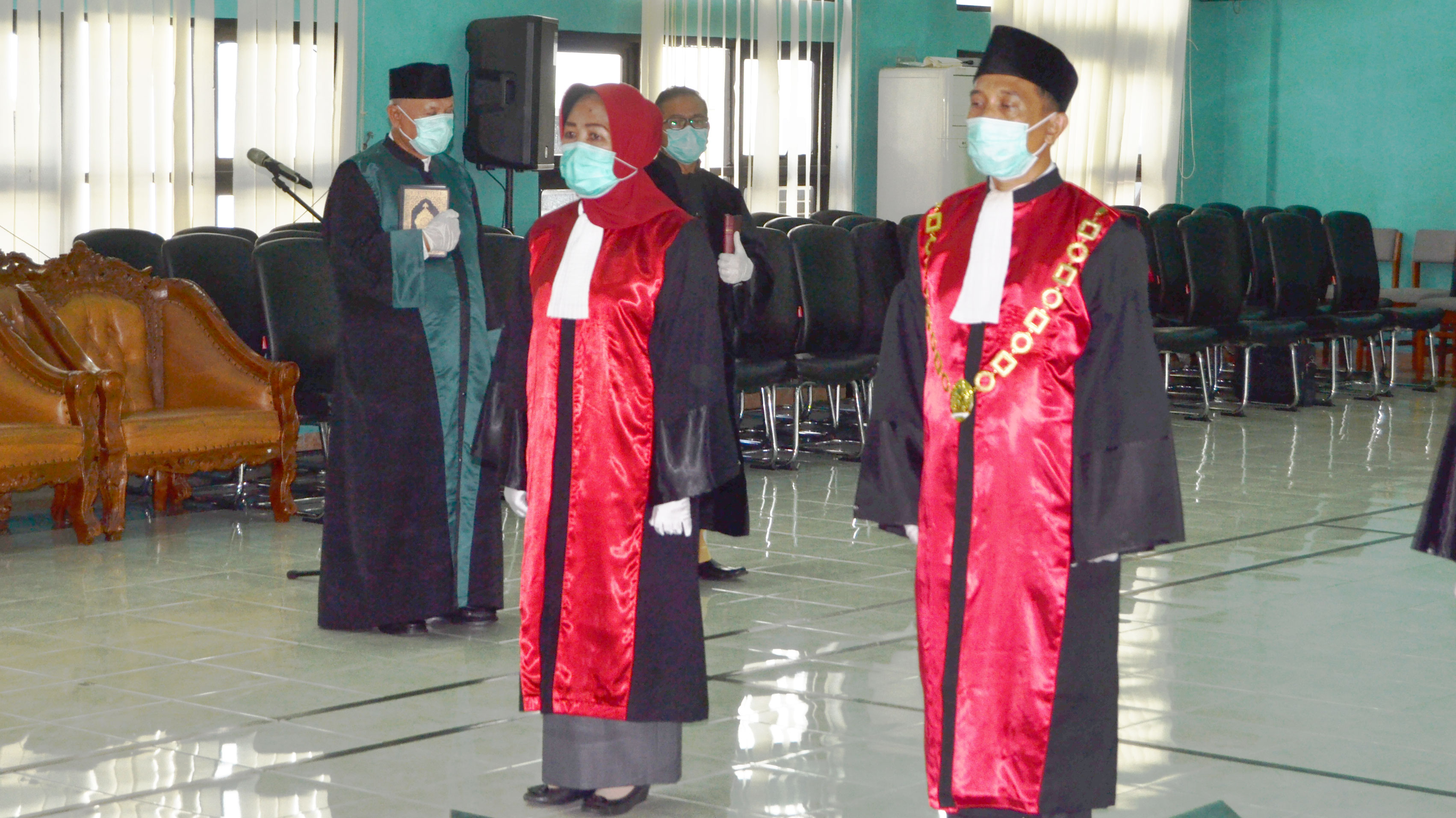 Pengambilan Sumpah, Pelantikan dan Serah Terima Jabatan Ketua Pengadilan Negeri Ungaran