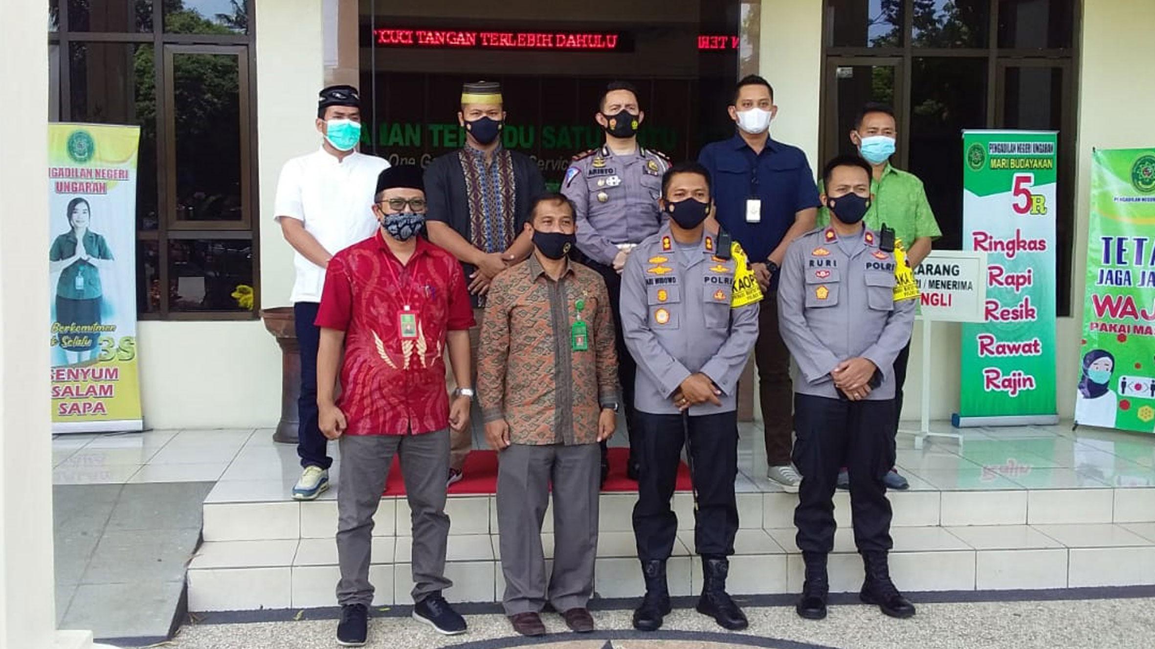 Perkenalan dan Silahturahmi Kapolres Kab. Semarang didampingi oleh Wakapolres Kab. Semarang