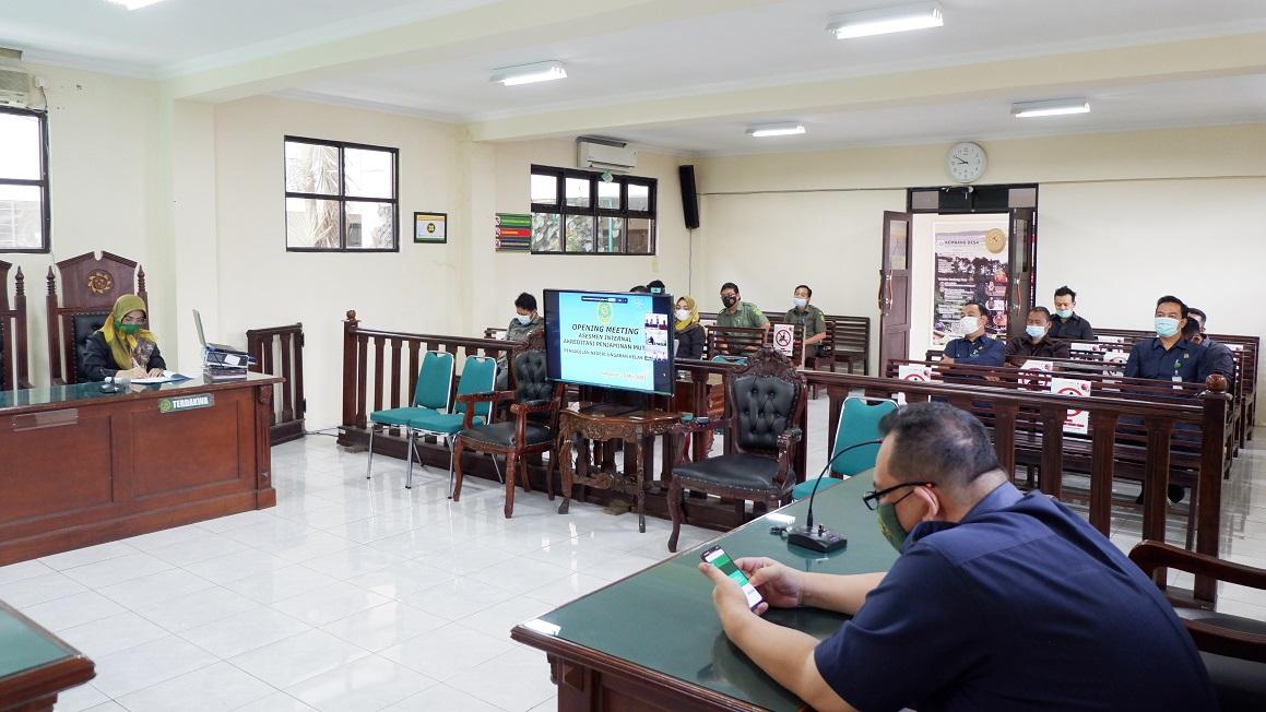 Opening Meeting Asesmen Internal APM Pengadilan Negeri Ungaran
