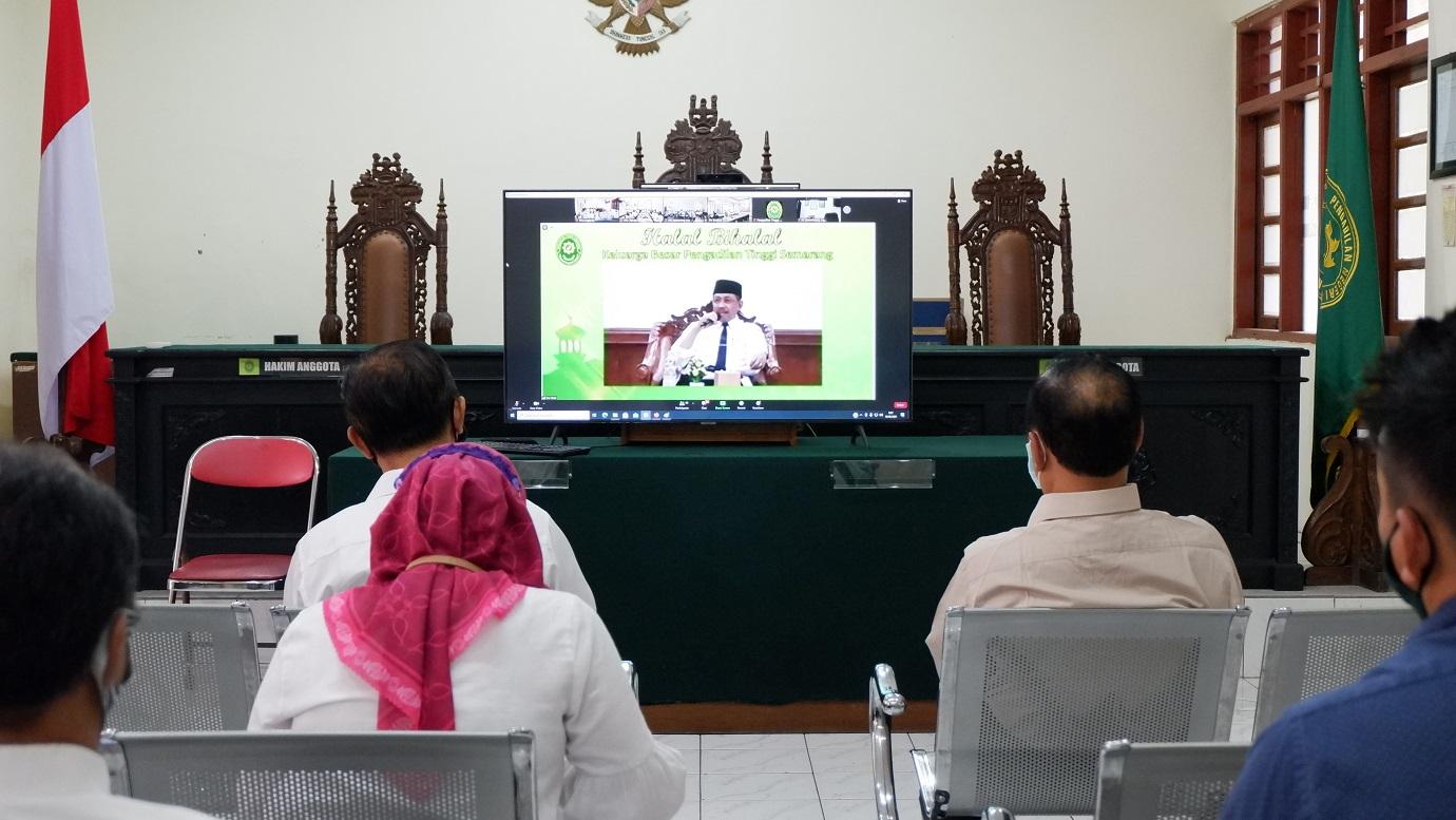 Halal Bihalal Pengadilan Negeri di Wilayah Hukum Pengadilan Tinggi Semarang