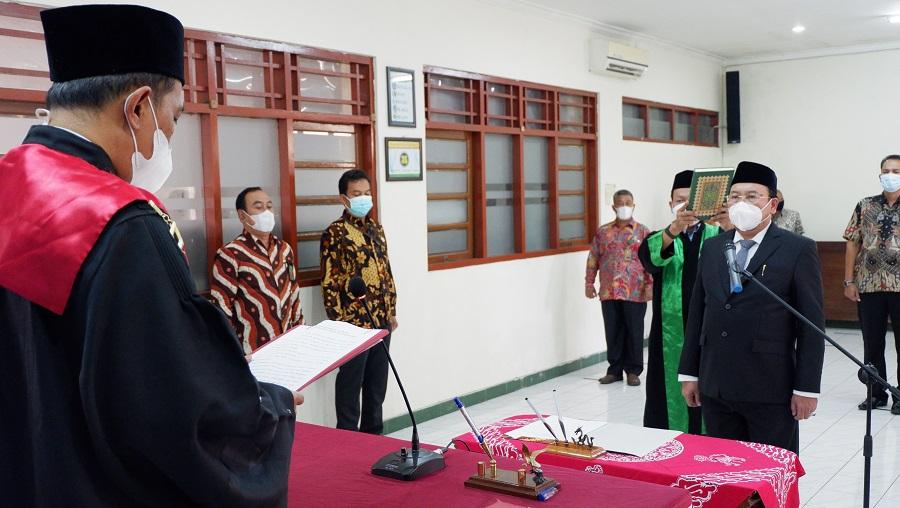 Pelantikan dan Pengambilan Sumpah Jabatan Panitera Muda Hukum Pengadilan Negeri Ungaran