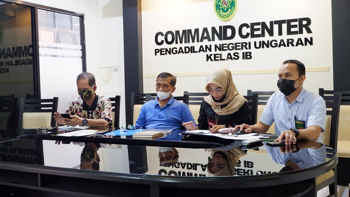 Koordinasi Monitoring Akomodasi yang Layak di Pengadilan